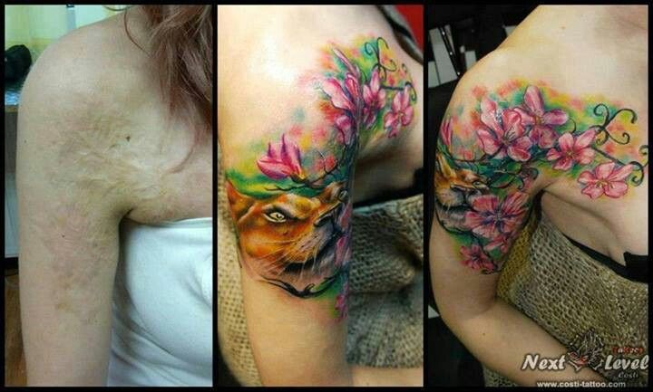 32 best images about scar cover up tattoos on pinterest for Scar tattoo cover up