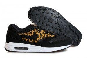 Negozio online calzature nike air max 1 uomo leopardate nere/oro/bianche prezzi bassissimi