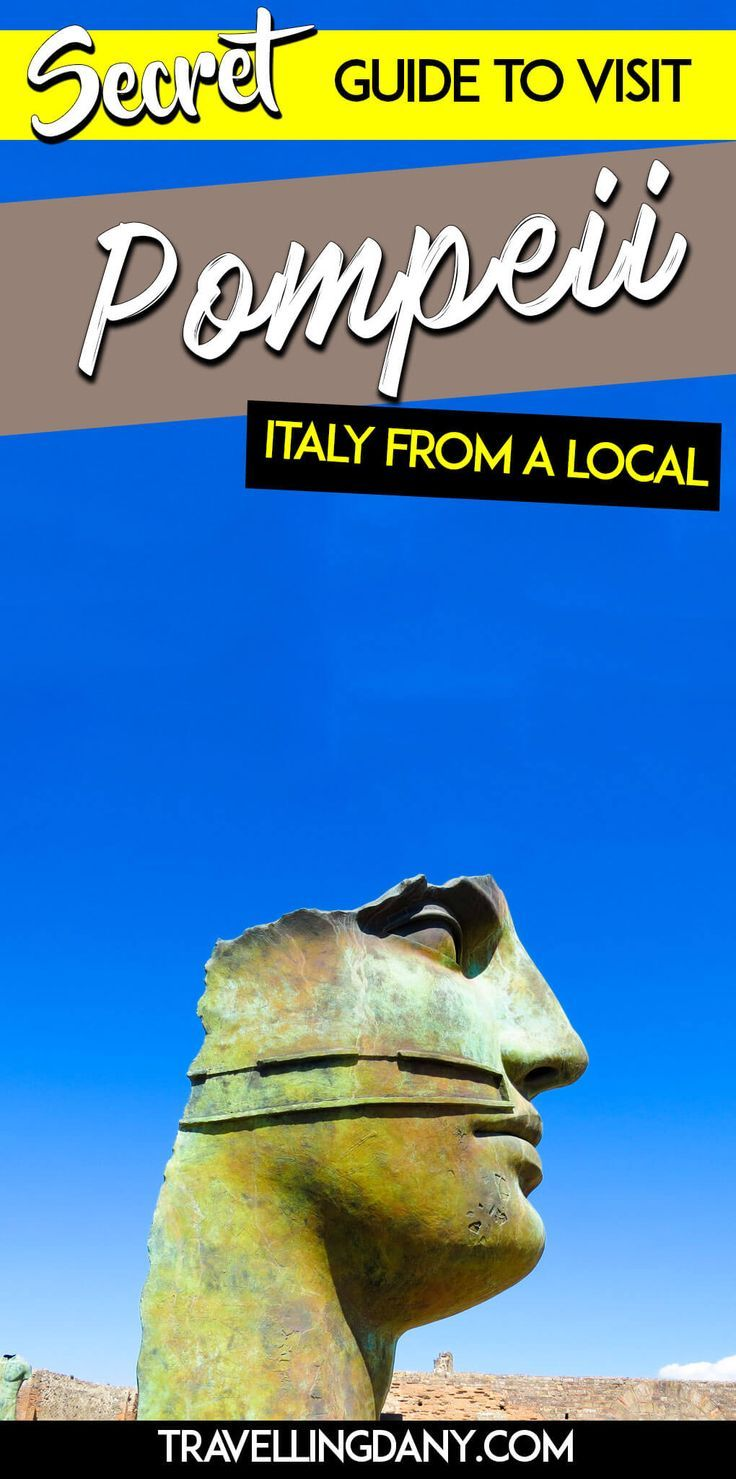Guide from a #local to visit #pompeii in #italy. It includes a #map and updated information on security procedures, plus how to get there from #napoli or #rome