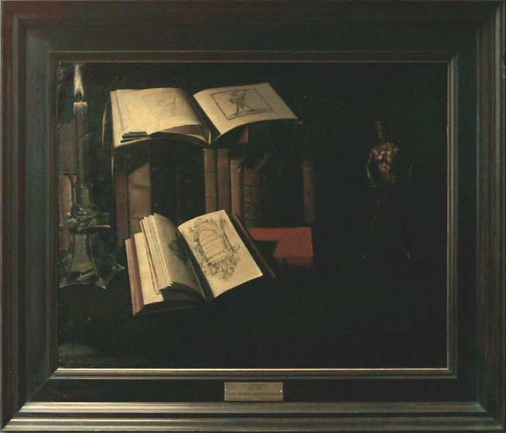 1 sebastien stoskopff, livres statuette gravures vanité  louvre
