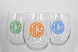 East Hampton, NY - The Monogram Shop has the best hostess gifts. Get a wide variety of items customized, everything from hand blown glasses to linen tissue boxes and towels.