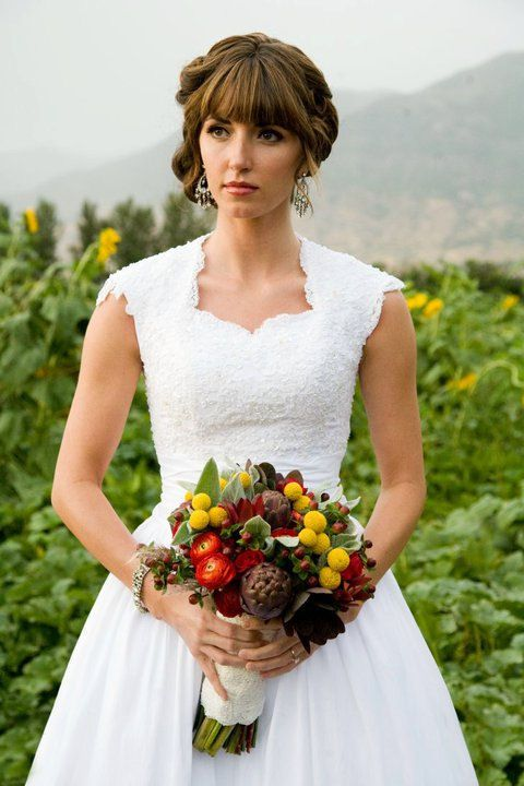 17 best images about mormon weddings for Temple ready wedding dresses