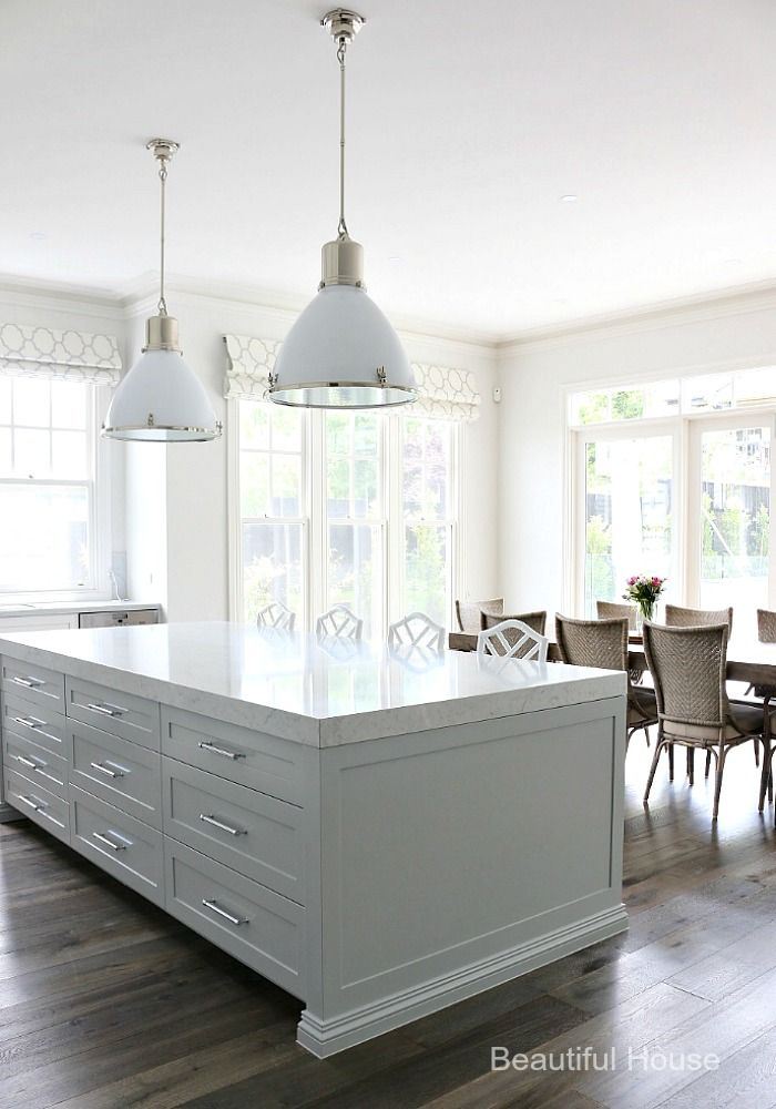 Beautiful House | Hamptons Style Kitchen | http://beautifulhouse.com.au