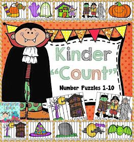 "Freebielicious: Kinder ""Count"" Number Puzzles"