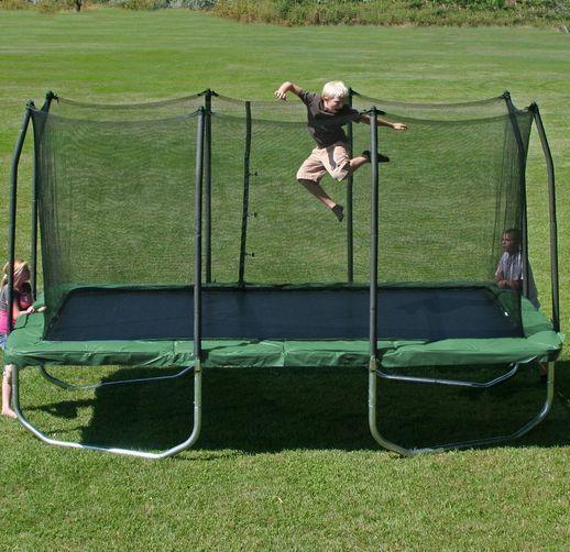 Skywalker Trampolines Trampoline Rectangle Enclosure Green Spring Pad 8 X 14-Ft. #SkywalkerTrampolinesEnteritemspecificvalue #Trampoline #tumbling #bounce #gymnastics #jumping #summer #jump