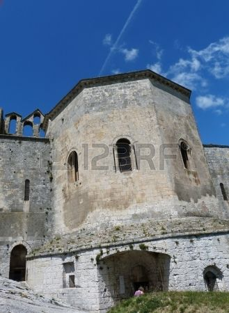 Montmajour abbey, Provence, France