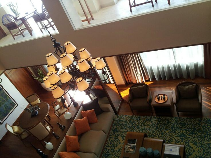 Living room at presidential suite