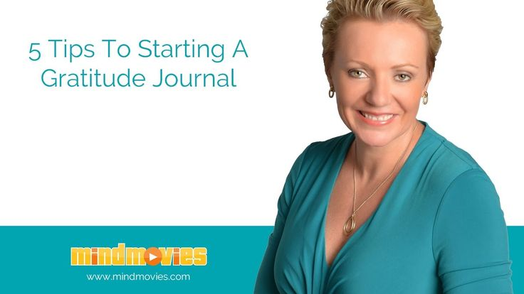 5 Tips To Starting A Gratitude Journal