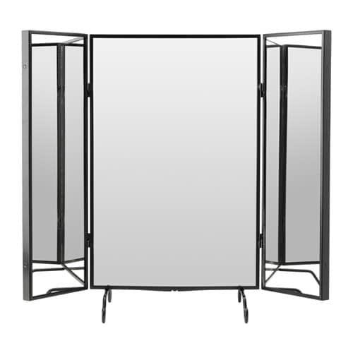 Karmsund Miroir De Table Noir Salle De Bain Miroir De
