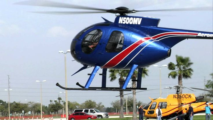MD500 Arrival at HELI-EXPO 2011