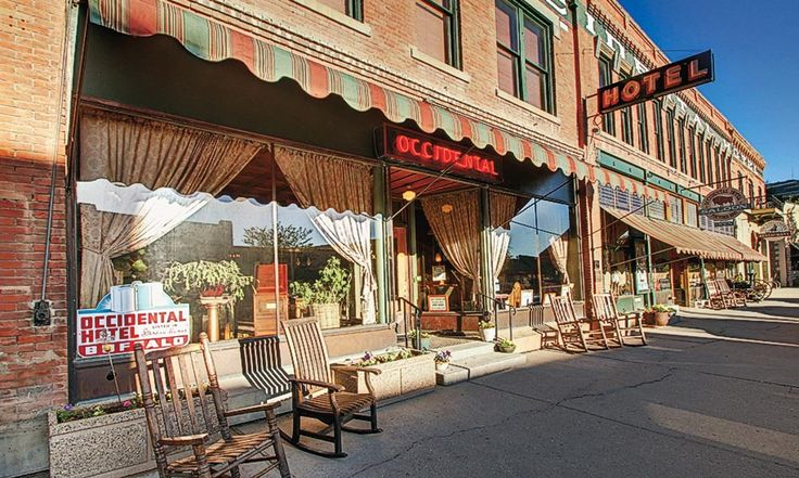 The Occidental Hotel, Buffalo, Wyoming true west