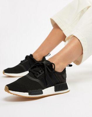 b77d8e1ff adidas Originals Nmd R1 Sneakers In Black in 2019