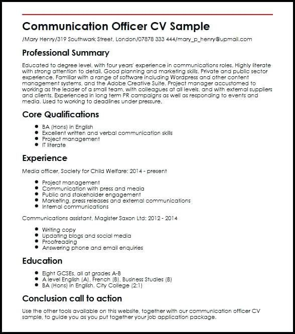 Communication Resume Sample Lebenslauf Vorlagen Resume Resumeexamples Resumetemplates Curriculumvitae Resume Skills Resume Examples Job Resume Examples