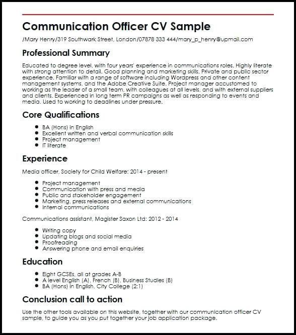 Communication Resume Sample Lebenslauf Vorlagen Resume Resumeexamples Resumetemplates Curriculumvitae Resume Skills Job Resume Examples Resume Examples
