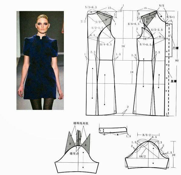 TRANSFORMAÇÃO DE VESTIDO COM MEDIDAS ~ Moda e Dicas de Costura