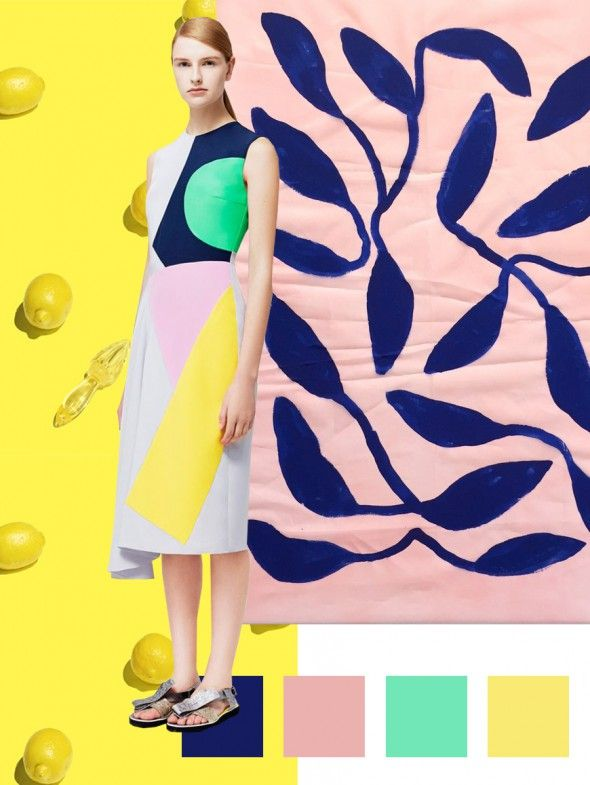 PATTERN PEOPLE - PRINT + COLOR TREND . SS 2018 LEMONADE