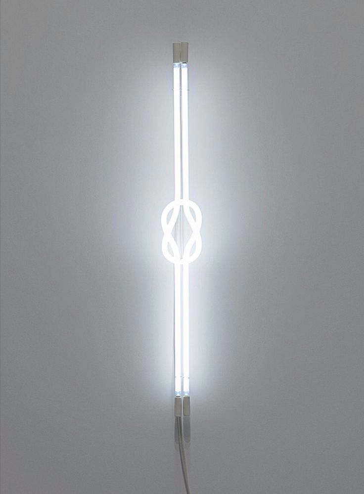 Chris Goennawein - To be, or knot to be (White) - Neon, 2014