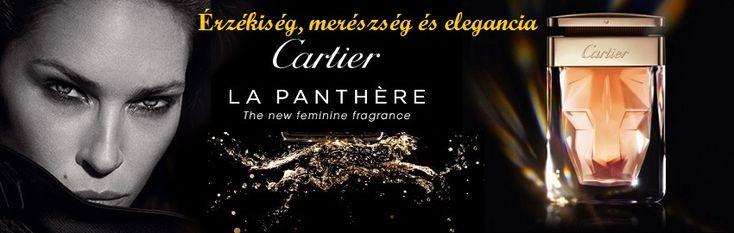 Cartier La Panthere női parfüm   Akik ezt a parfümöt viselik azok függetlenek, kecsesek és lázadóak.  http://www.parfumdivat.hu/parfumdivathazak/cartier-la-panthere-noi-parfum.html
