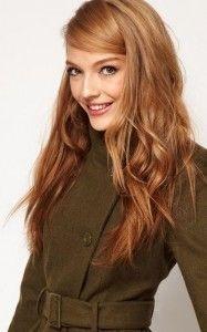 Golden brown hair color for fair skin