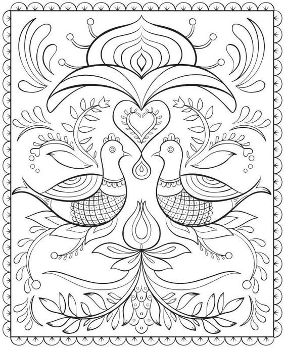 ABSOLUTELY BEAUTIFUL For Embroidery Pattern from Dover Publications at doverpublications.com. jwt