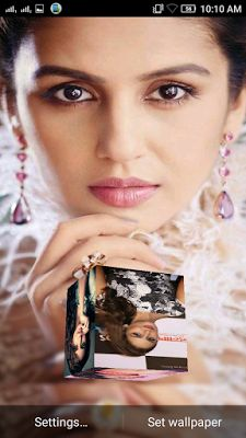 Huma Qureshi 3D live Wallpaper For Android Mobile Phone