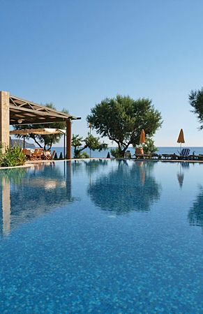 Iolida Beach Hotel in Agia Marina, Chania, Crete
