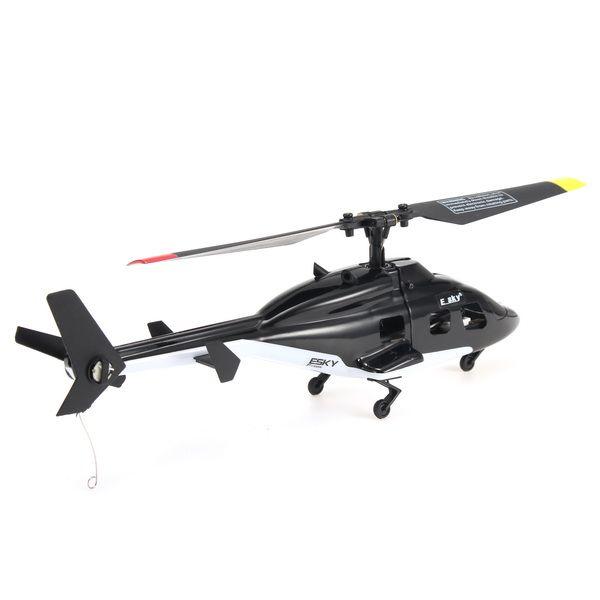 ESKY F150X 4 canales 2.4GHz de 6 ejes Gyro Flybarless RC helicóptero con CC3D