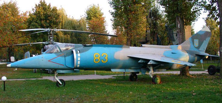 Як-38. Штурмовик. (СССР)