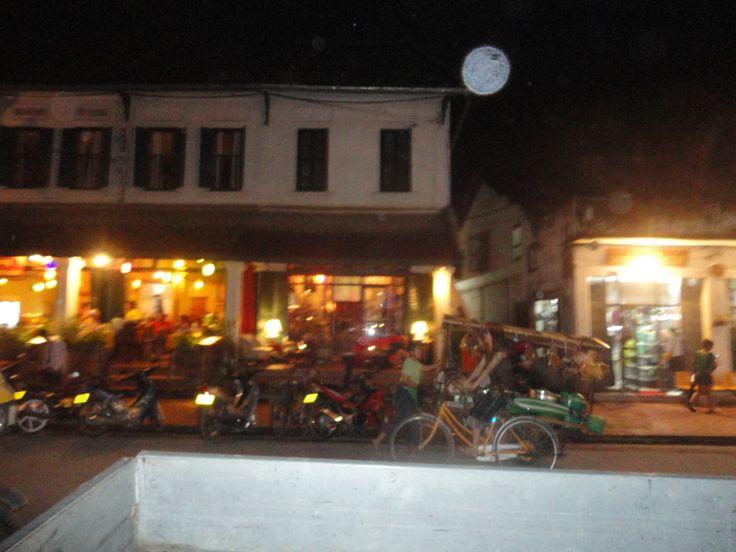 Lieblingsfleck Luang Prabang, Laos - Abendstimmung