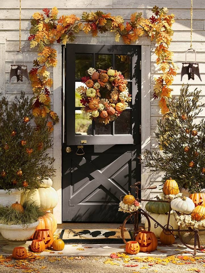 Find This Pin And More On Decorating Doors For The Fall Holidays By  Clopaydoors.