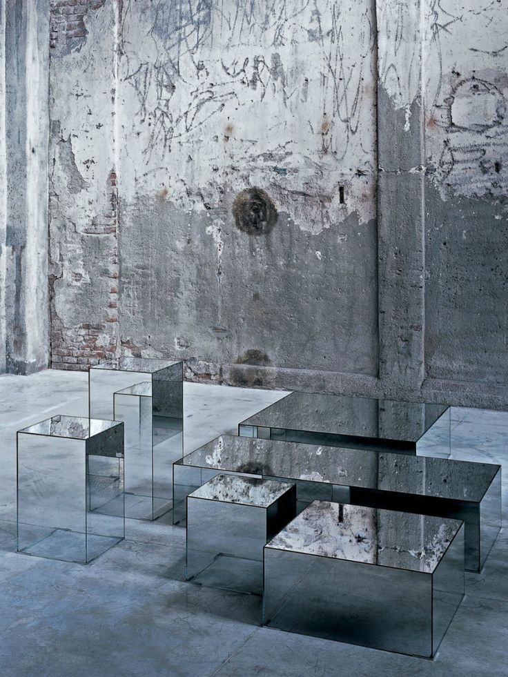 See Your Face In Every Surface With Mirrored Furniture