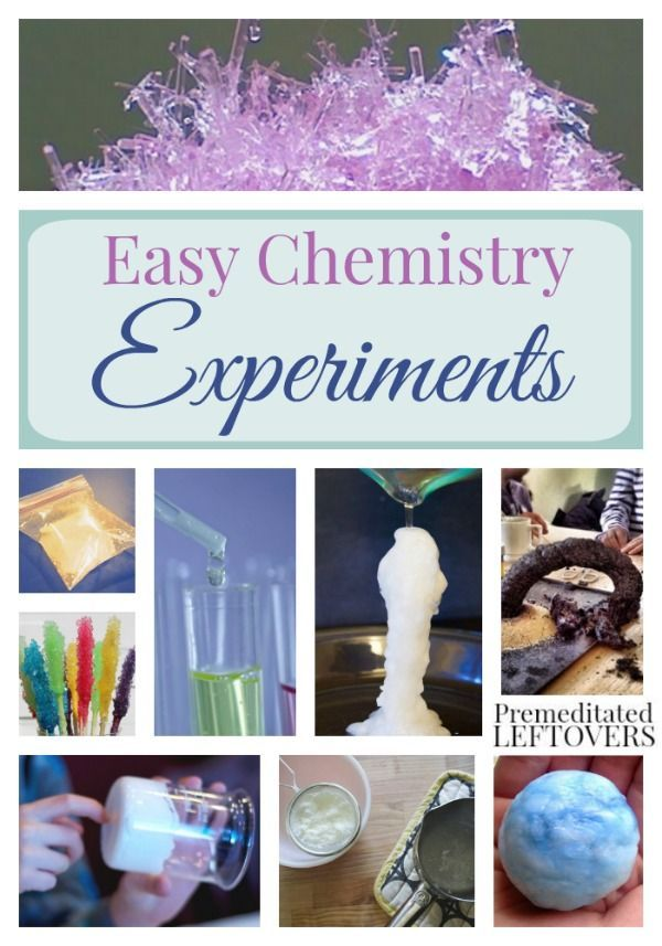 Easy Chemistry Experiments for Kids- Kids can explore acids, bases, and chemical reactions with these hands-on chemistry experiments. They are fun and easy!