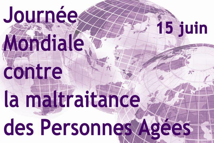 Journée mondiale contre la maltraitance des personnes âgées.