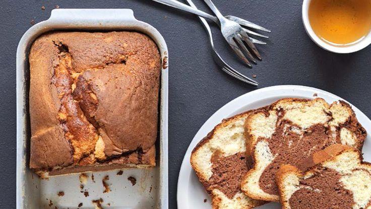 Gemarmerde cake met Nutella