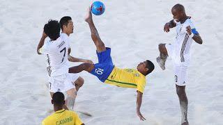 Blog Esportivo do Suíço: Brasil vence Japão e avança para as quartas do Mundial de futebol de areia