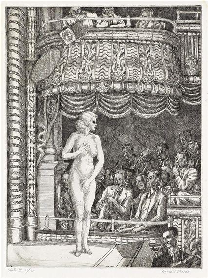 Reginald Marsh, Striptease at New Gotham