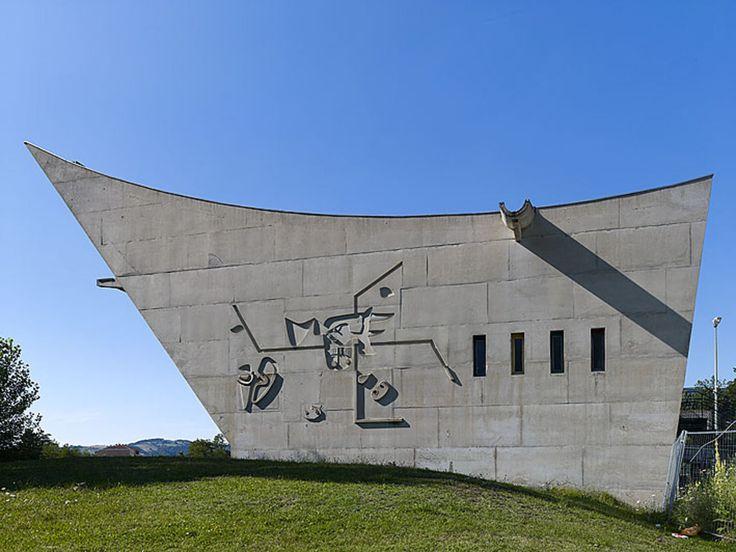 Maison de la Culture, Firminy, France - Google Search