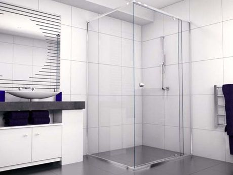 Semi-Frameless Showerscreens | Shower Screens | Stegbar Showersceens