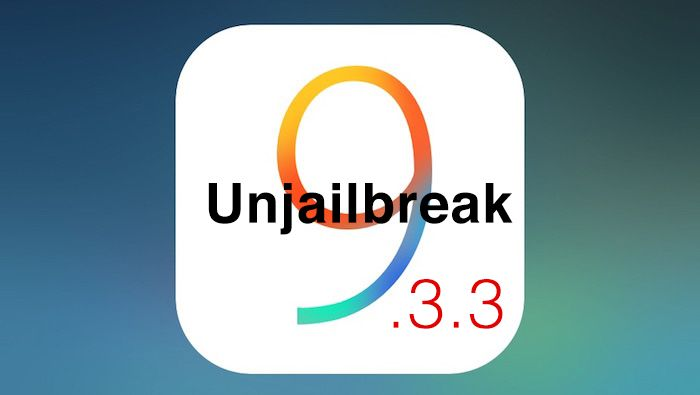 How to Remove Pangu iOS 9.3.3 Jailbreak Safely from your