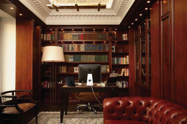 мебель для домашней библиотеки