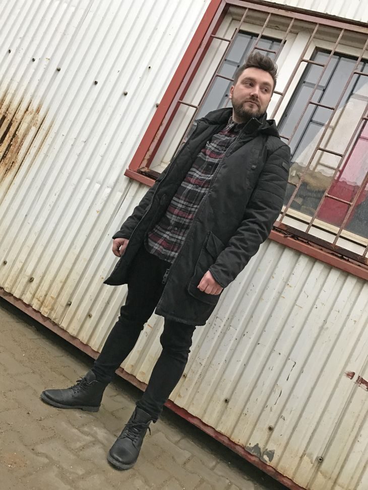 Outfit: We built this city   Shop The Look  graham herrenmode kariertes hemd männermode Outfit shop the look tigha