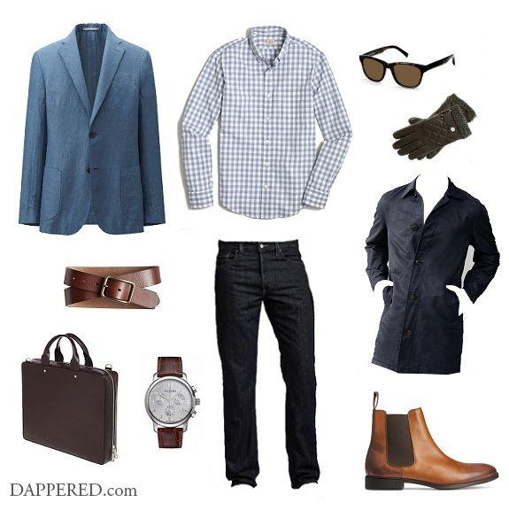 Style Scenario: Not Quite Spring… | Dappered.com