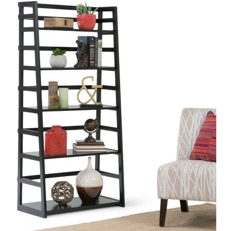 Brooklyn + Max Brunswick Collection Black Ladder Shelf