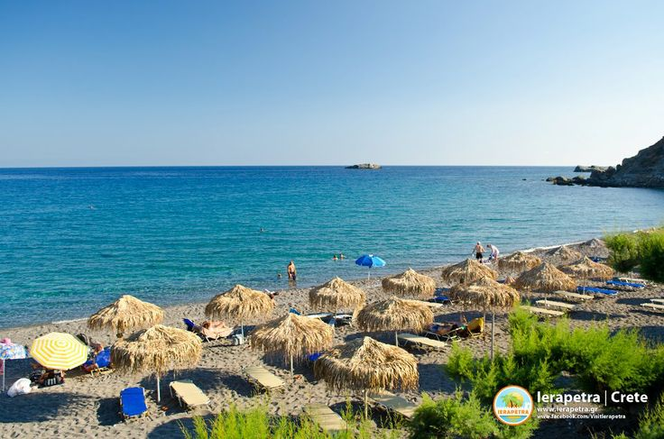 The incredible beach of Agia Fotia, almost 17mins away from the center of #Ierapetra!!