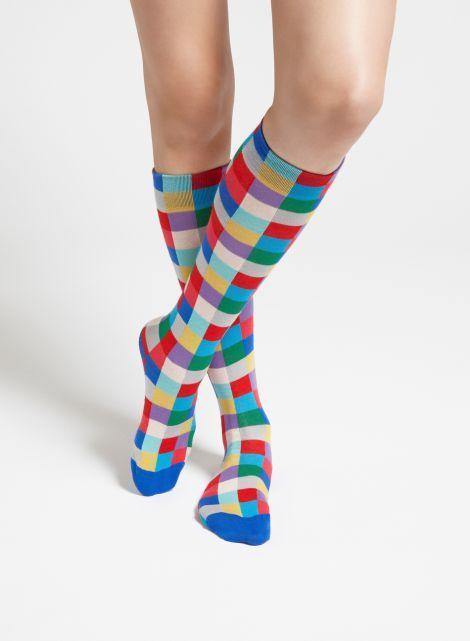 Shakki knee socks (blue, red, green) |Accessories, Socks & Stockings, Bags & Accessories | Marimekko