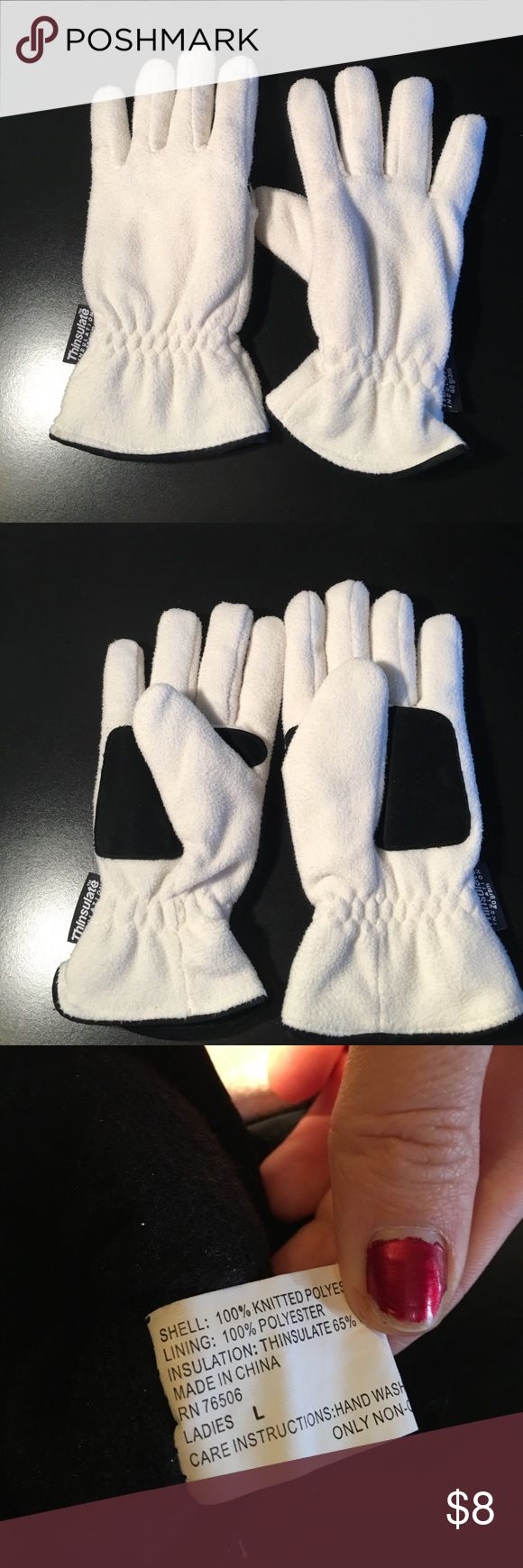 Ladies leather gloves with thinsulate - Thinsulate Gloves
