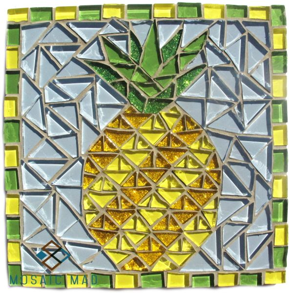 Mosaic Mad D.I.Y. kit. Pineapple R120.00 http://www.mosaicmad.com/shop/en/mosaic-kits-/5137-mosaic-project-pineapple.html