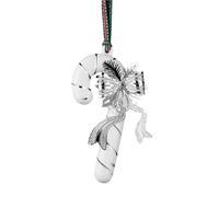 Newbridge Silver Silver & Ceramic Candy Christmas Decoration
