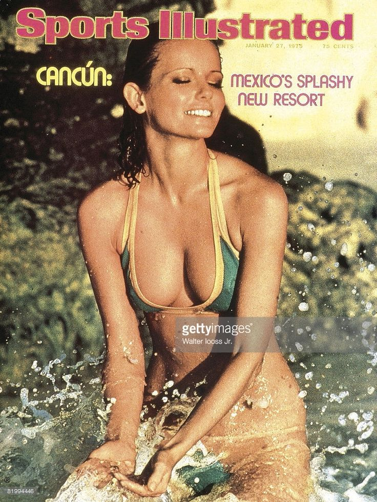 News Photo : Model Cheryl Tiegs poses for the 1975 Sports...