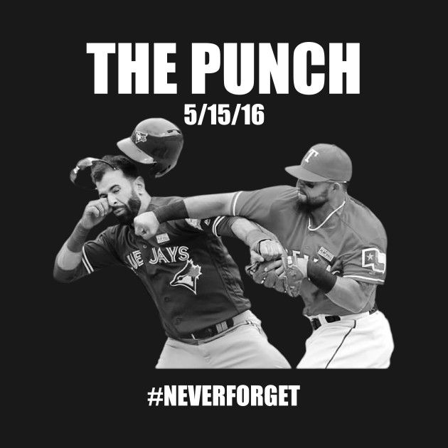 Awesome 'The+Punch+%23NeverForget' design on TeePublic!